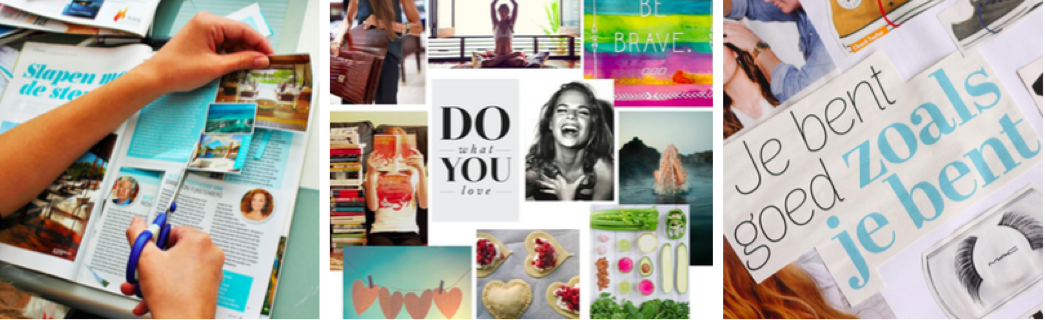 creatieve workshop vision board